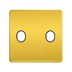 Накладка на тумблер Fede, real gold/черный, FD04321OR-M
