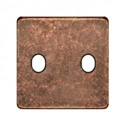 Накладка на тумблер Fede, rustic cooper/черный, FD04321RU-M
