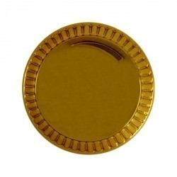 Накладка на светорегулятор Fede, real gold, FD04322OR