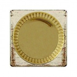 Светорегулятор поворотный Fede Коллекции FEDE, 500 Вт, white decape/бежевый, FD16438BD-A