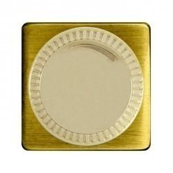 Светорегулятор поворотный Fede Коллекции FEDE, 500 Вт, bright patina/бежевый, FD16438PB-A