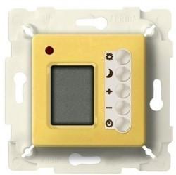 Термостат комнатный Fede МЕХАНИЗМЫ, с дисплеем, bright gold/бежевый, FD18004OB-A