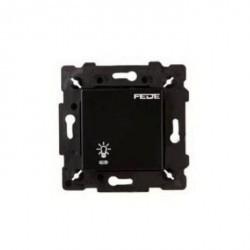Выключатель сенсорный 1-клавишный Fede Коллекции FEDE,черный, FD28601-M