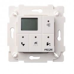 Выключатель с таймером Fede Коллекции FEDE, электронный, бежевый, FD28603-A