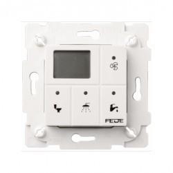 Выключатель с таймером Fede Коллекции FEDE, электронный, белый, FD28603