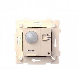 Выключатель с датчиком движения Fede МЕХАНИЗМЫ, до 800 Вт, бежевый, FD28604-A