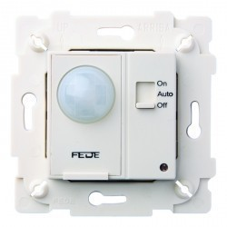 Выключатель с датчиком движения Fede МЕХАНИЗМЫ, до 800 Вт, белый, FD28604