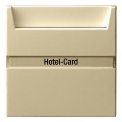 Карточный выключатель Gira SYSTEM 55, механический, кремовый глянцевый, 014001