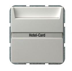 Карточный выключатель Gira SYSTEM 55, механический, белый глянцевый, 014003