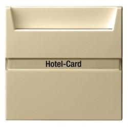 Карточный выключатель Gira SYSTEM 55, механический, белый матовый, 014027