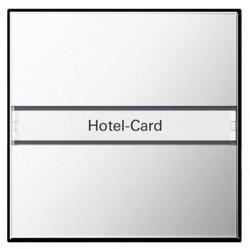 Карточный выключатель Gira SYSTEM 55, механический, хром, 0140605