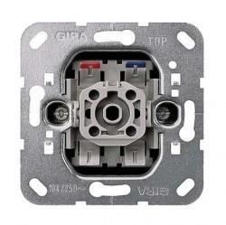 Механизм переключателя 1-клавишного кнопочного Gira Коллекции GIRA, скрытый монтаж, 015000