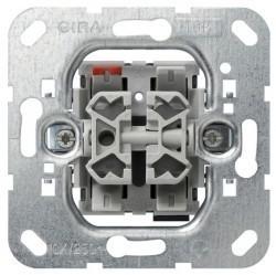 Механизм кнопочного выключателя для жалюзи 2-клавишного Gira Коллекции GIRA, 015800