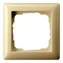 Рамка 1 пост Gira STANDARD 55, кремовый глянцевый, 021101