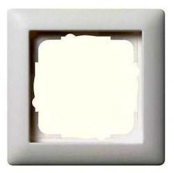 Рамка 1 пост Gira STANDARD 55, белый глянцевый, 021103