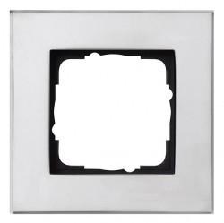 Рамка 1 пост Gira ESPRIT, хром, 021110