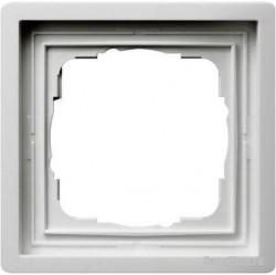 Рамка 1 пост Gira F100, белый глянцевый, 0211112