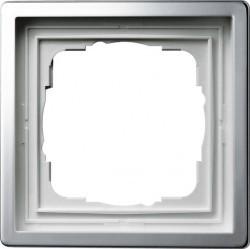 Рамка 1 пост Gira F100, хром, 0211115