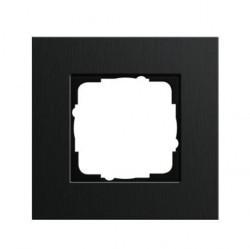 Рамка 1 пост Gira ESPRIT, черный, 0211126