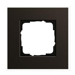 Рамка 1 пост Gira ESPRIT, коричневый, 0211127