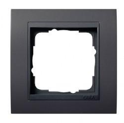 Рамка 1 пост Gira EVENT, темно-коричневый матовый, 021113
