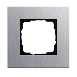 Рамка 1 пост Gira ESPRIT, алюминий, 021117