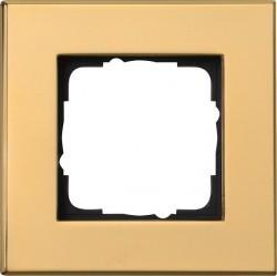 Рамка 1 пост Gira ESPRIT, латунь, 021119сн