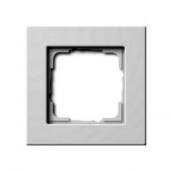 Рамка 1 пост Gira E22, белый глянцевый, 0211201
