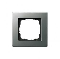 Рамка 1 пост Gira E22, стальной, 0211202