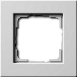Рамка 1 пост Gira E22, белый глянцевый, 0211204