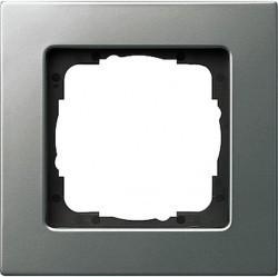 Рамка 1 пост Gira E22, стальной, 0211205