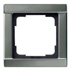 Рамка 1 пост Gira EDELSTAHL, стальной, 021120