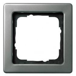 Рамка 1 пост Gira EDELSTAHL, стальной, 021121