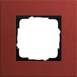 Рамка 1 пост Gira ESPRIT, красный, 0211229