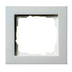 Рамка 1 пост Gira E2, белый матовый, 021122