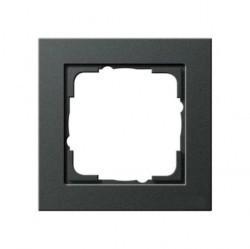 Рамка 1 пост Gira E2, антрацит, 021123