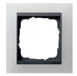 Рамка 1 пост Gira EVENT, белый матовый, 021124