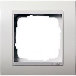 Рамка 1 пост Gira EVENT, белый матовый, 0211327