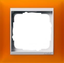 Рамка 1 пост Gira EVENT, янтарный матовый, 0211332