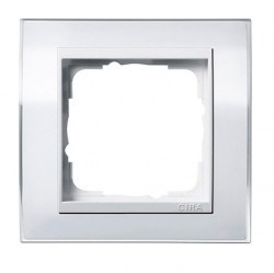 Рамка 1 пост Gira EVENT, белый полупрозрачный матовый, 0211334