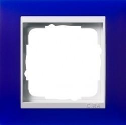 Рамка 1 пост Gira EVENT, синий матовый, 0211399