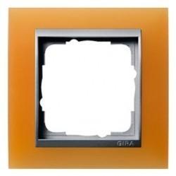 Рамка 1 пост Gira EVENT, оранжевый матовый, 021153