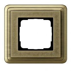 Рамка 1 пост Gira CLASSIX, бронзовый, 0211621