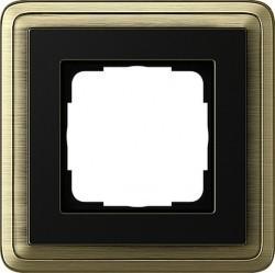 Рамка 1 пост Gira CLASSIX, бронзовый, 0211622