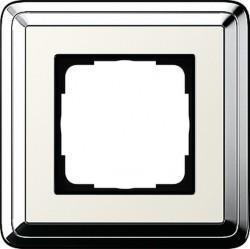 Рамка 1 пост Gira CLASSIX, хром, 0211643