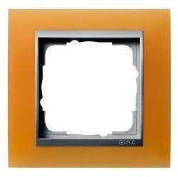 Рамка 1 пост Gira EVENT, янтарный матовый, 021169
