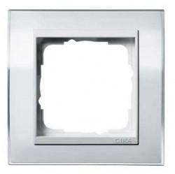 Рамка 1 пост Gira EVENT CLEAR, белый глянцевый, 0211723