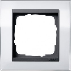 Рамка 1 пост Gira EVENT, белый, 0211728