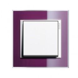 Рамка 1 пост Gira EVENT CLEAR, темно-фиолетовый глянцевый, 0211753