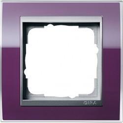 Рамка 1 пост Gira EVENT CLEAR, темно-фиолетовый глянцевый, 0211756